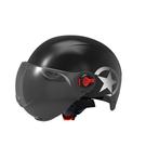 安全帽 電動瓶頭盔兒童安全帽男女士通用清涼夏季摩夏天四季托半盔車頭盔 JD 交換禮物