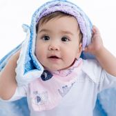 Cutie Bella豆豆印花領巾圍兜 口水巾 可雙面扣 Pinky-Elephant