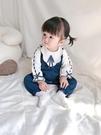 滿月服網紅滿月嬰兒衣服秋裝女寶寶連體衣春秋可愛公主哈衣學院風連體衣 新年禮物