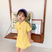女童洋氣洋裝夏裝2020新款嬰兒童公主裙子小寶寶韓版短袖裙潮季 HX5575【Sweet家居】