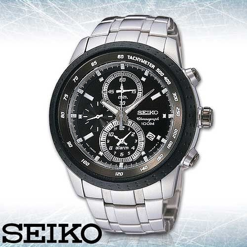 SEIKO 精工手錶專賣店 SNAB51P1男錶 石英錶 不鏽鋼錶帶 強化抗磨損礦石玻璃鏡面 防水