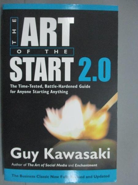【書寶二手書T5/財經企管_KKT】Art of the Start 2.0_Guy Kawasaki