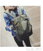 書包女韓版原宿高中學生雙肩包帆布背包旅行電腦包 【快速出貨】