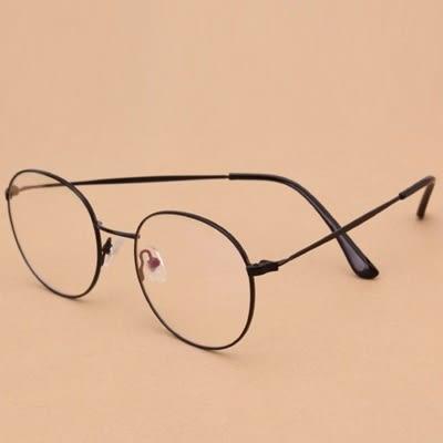 鏡框(細框)-時尚經典復古氣質男女平光眼鏡5色73oe6[巴黎精品]