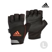 Adidas Training- 防滑短指手套(活力橙)-L