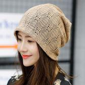 月子帽春夏季薄款透氣產婦帽夏天孕婦帽子純棉頭巾堆堆帽產後帽   LannaS