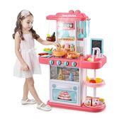 玩具廚具女孩兒童廚房仿真做飯煮飯套裝寶寶3-6歲7女童 萬客居