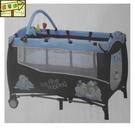 [家事達] Mother's Love-  CL20  雙層遊戲床-內附蚊帳、上層架、玩具架