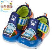 《布布童鞋》TAYO小巴士橘藍色夏季兒童透氣休閒鞋(14~19公分) [ M8K001E ]