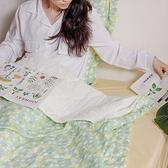 【青鳥家居 】雙面雙層紗涼感紗 涼被枕套組單人 - 蘇珊
