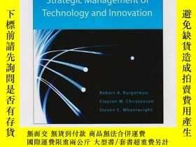 全新書博民逛書店StrategicManagement Of Technology And InnovationY307751