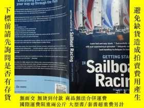二手書博民逛書店GETTING罕見STARTED IN SAILBOAT RACING SECOND EDITION 帆船競賽第二