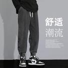 潮流長褲 牛仔褲男潮牌夏季薄款2021年新款寬鬆直筒束腳春秋款休閒哈倫褲子