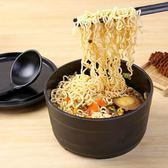 泡麵碗 泡麵碗帶蓋大號學生碗湯碗日式餐具創意飯盒方便麵碗  萬客居