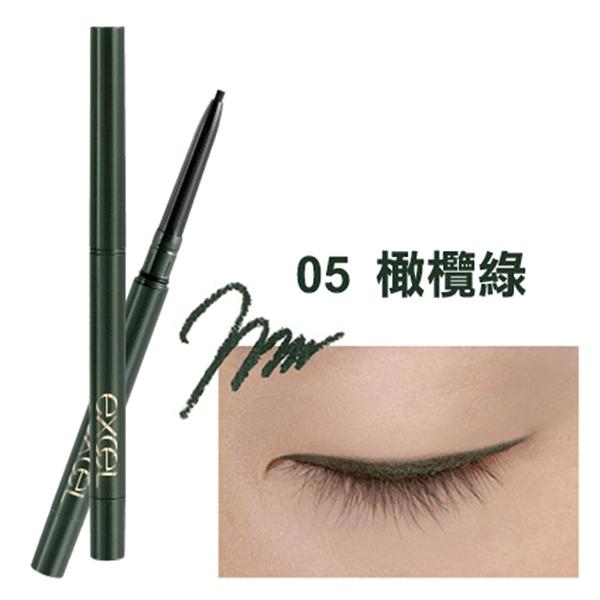 EXCEL 持色眼線膠筆 05 橄欖綠 11g