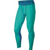 NIKE 長束褲 Pro Combat Hypercool 緊身 保暖 Dri-Fit 蒂綠 636157-405【SP】