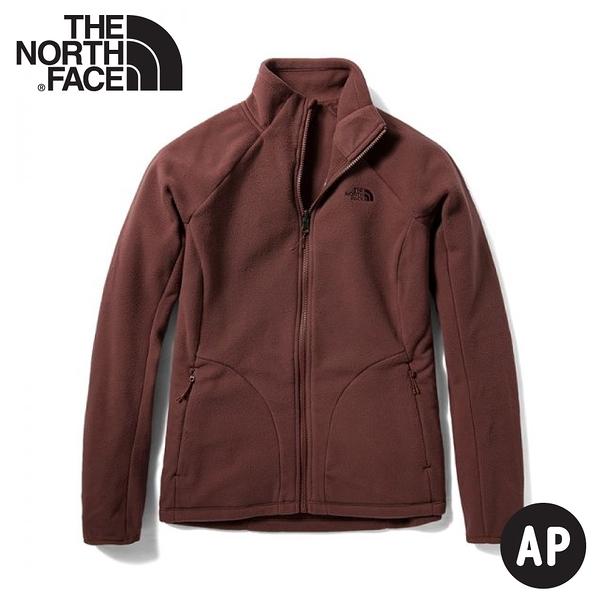 【The North Face 女 FASTER HIKE TKA 200 保暖外套(可套式)《馬龍紫》】4U5I/透氣刷毛外套
