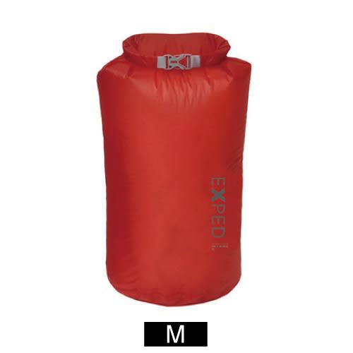 EXPED Fold Drybag UL 輕盈防水袋(M).蘋果紅 20101513-RE
