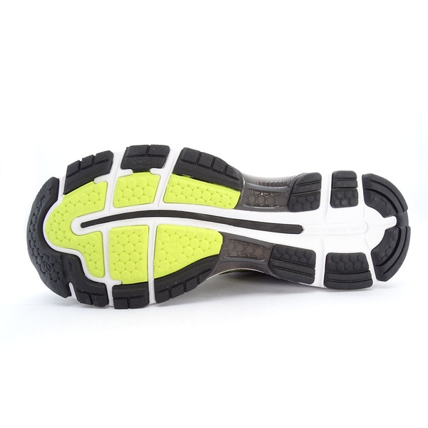 Asics GEL-Nimbus 20 [T800N-8990] 男鞋 運動 慢跑 健走 休閒 緩衝 亞瑟士 螢黃 黑