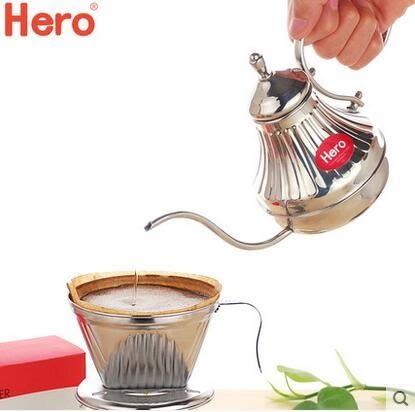 細口壺 304不銹鋼 咖啡手衝細口壺 450ml 長嘴 滴漏 咖啡壺