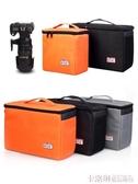 單反相機內膽包加厚適用尼康佳能60D77D70D80D 5D4 3 6D2 7D2鏡頭雙肩便攜保護套手提收納包防潮