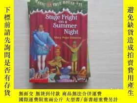 二手書博民逛書店Stage罕見Fright on a Summer Night