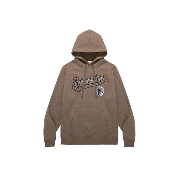 CACO-印地安毛巾繡帽T(二色)-男【UAR082】