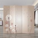 歐式屏風 隔斷牆 可折疊 移動客廳遮擋家...