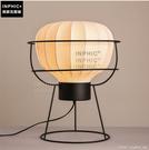 INPHIC- 新中式檯燈現代中式簡約客廳臥室床頭書房鐵藝古典裝飾檯燈-黃光_S197C