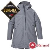 【Marmot】女 兩件式GT羽絨保暖連帽外套『大理石灰』12430-1515 戶外 休閒 登山 露營 保暖 禦寒 防風