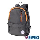 K-SWISS Sunshine Backpack休閒後背包-黑/橘