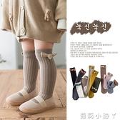 春秋薄款純棉小童寶寶長筒襪女童中筒襪嬰兒洋氣兒童堆堆襪韓國潮 蘿莉新品