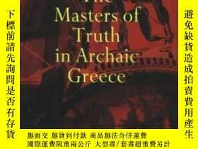 二手書博民逛書店The罕見Masters Of Truth In Archaic GreeceY364682 Marcel D