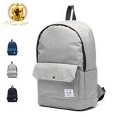 簡約質感休閒防水口袋後背包包筆電包 電腦包 NEW STAR BK289