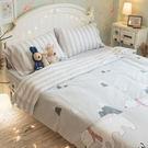 雪山小熊 A3枕套乙個 100%復古純棉 極日風 台灣製造 棉床本舖