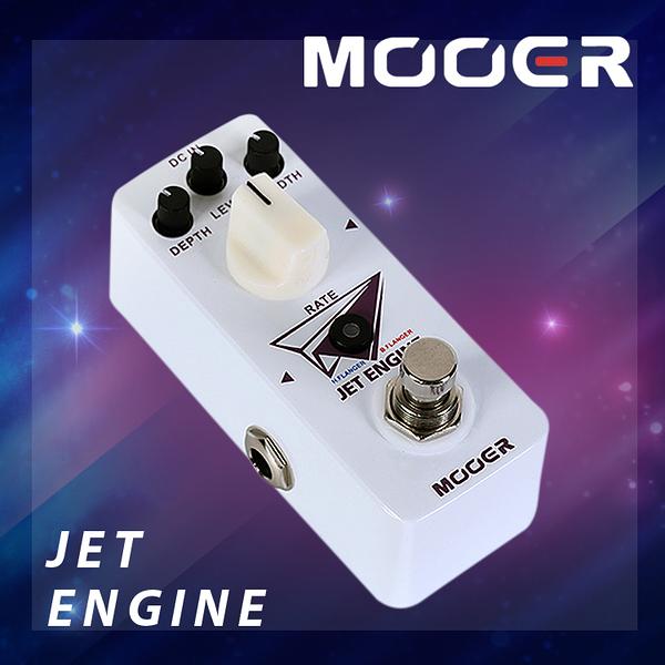 小叮噹的店- MOOER JET ENGINE 數字鑲邊單塊 電吉他效果器 MREG-JE