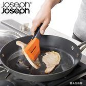 廚房二合一鏟夾鍋鏟多功能耐熱硅膠面包燒烤食物夾     LY6534『愛尚生活館』