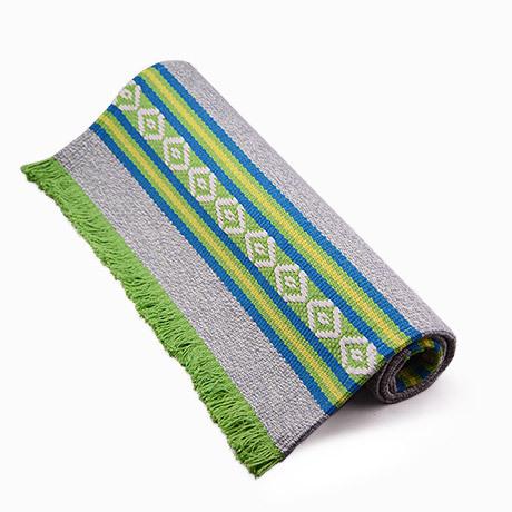 時尚可愛編織地墊 民族風廚房浴室衛生間防滑地毯 防滑墊