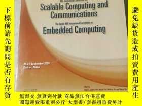 二手書博民逛書店Scalable罕見Computing and Communic