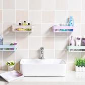 ✭慢思行✭【P326】強力黏膠長方置物架 浴室 洗手間 架子 廁所 收納架 衛生間 置物架