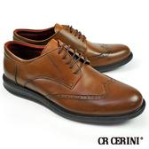 【CR CERINI】經典翼紋紳士鞋 棕色(54562-BR)