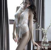 情趣內衣開檔緊身連身衣夫妻用品透視裝衣服性感激情套裝制服女騷