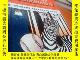 二手書博民逛書店原版16開精裝Everyday罕見Mathematics(student reference book)the u