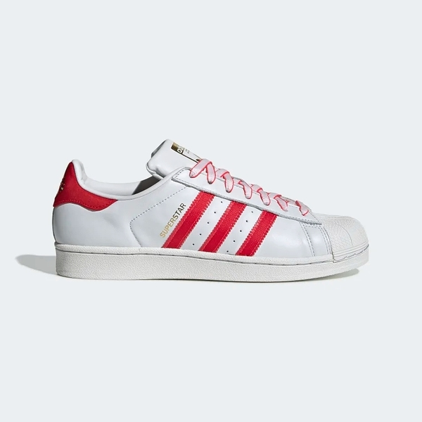 Adidas Original Superstar 白 紅 新年限定 基本 休閒 貝殼頭 女 G27571 ☆SP☆