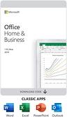 微軟 Office 2019 家用與中小企業版 英文版 Home and Business P6 (WIN/MAC共用)