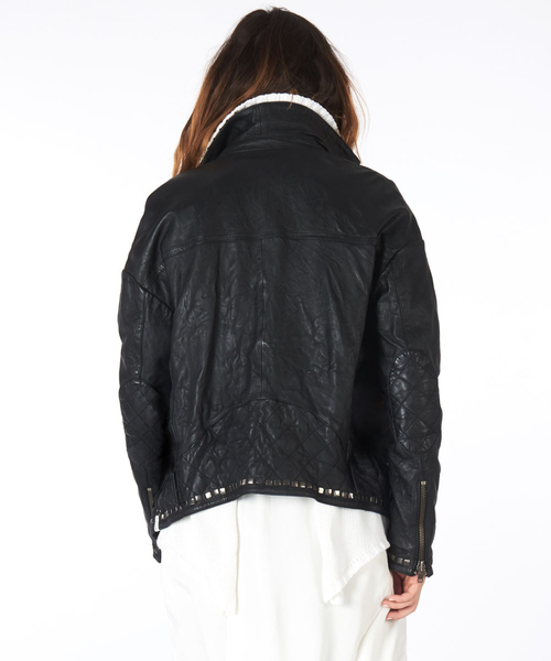 OneTeaspoon 夾克 LEATHER JACKET -黑(女)8800