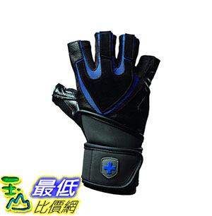 [8美國直購] XXL 尺寸 重訓手套  Harbinger Training Grip Wristwrap Weightlifting Gloves TechGel-Padded
