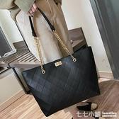 簡約包包女包新款2021手提包女大包大容量單肩包網紅高級感托特包