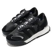 【海外限定】adidas 休閒鞋 Wangbody Run x alexander wang 黑 白 男鞋 Boost 中底設計 聯名款 【ACS】 EF2438