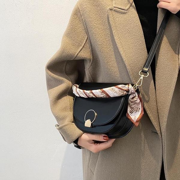 馬鞍包 上新小包包2021流行新款潮韓版百搭斜背包網紅時尚女士馬鞍包 618狂歡